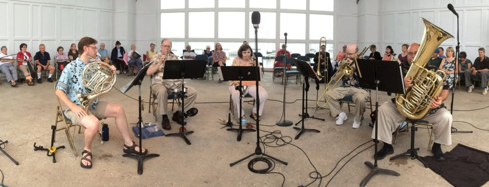 Celebration Brass Quintet at Lake Harriet Bandshell